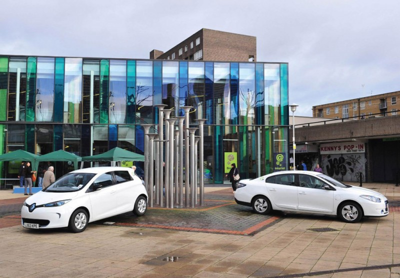 Renault Empowers UK Electric Car Club
