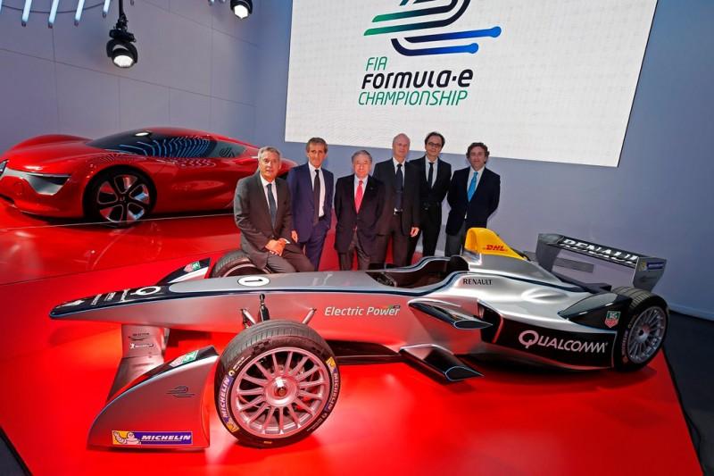 The Fifth Official Formula E Team - e.dams
