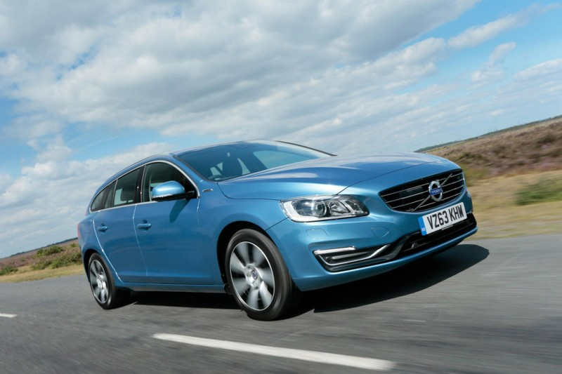 Volvo V60 D6 AWD, Plug-in Hybrid (MY14 onwards)