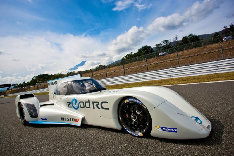 Nissan ZEOD RC Electric Racing Car at Fuji Speedway