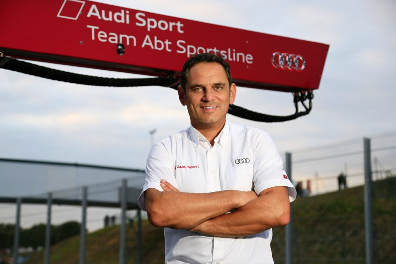 ABT Team Principal Hans-Jürgen Abt
