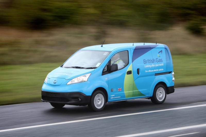 Nissan and British Gas launch electric commercial vehicle pilot
