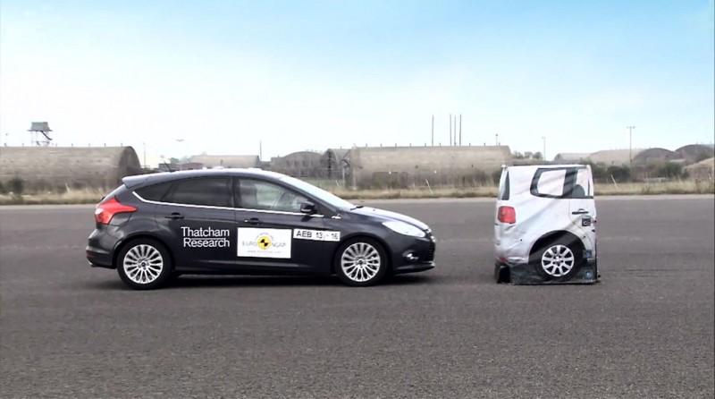 Euro NCAP AEB Testing - Ford Focus