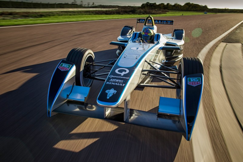 FIA Formula E SRT_01E Test Debut