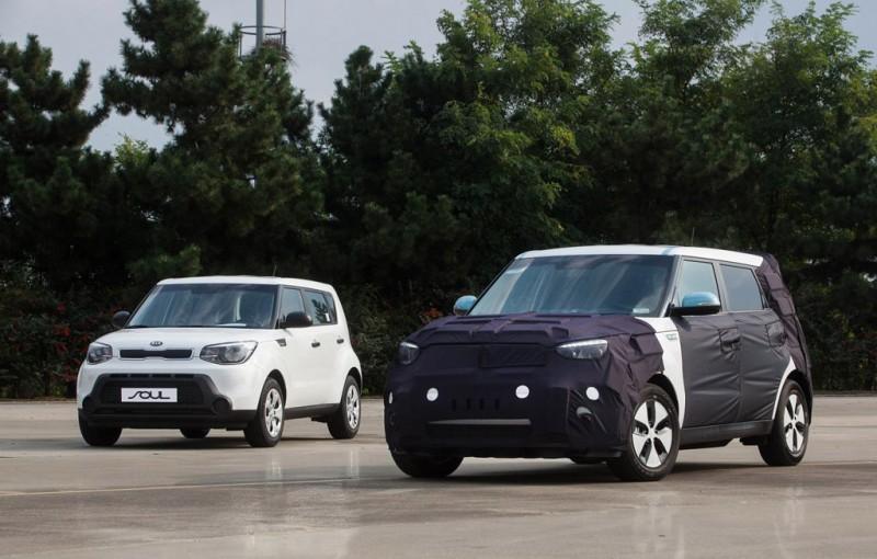 Kia Soul Electric Car EV