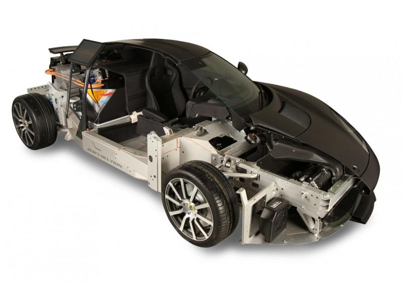 Lotus Evora 414E REEVolution Cutaway