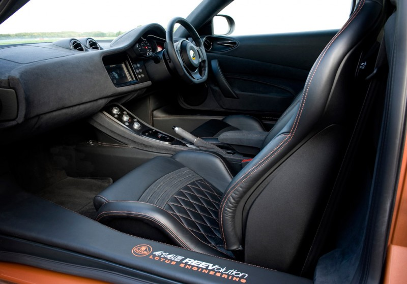 Lotus Evora 414E REEVolution Interior