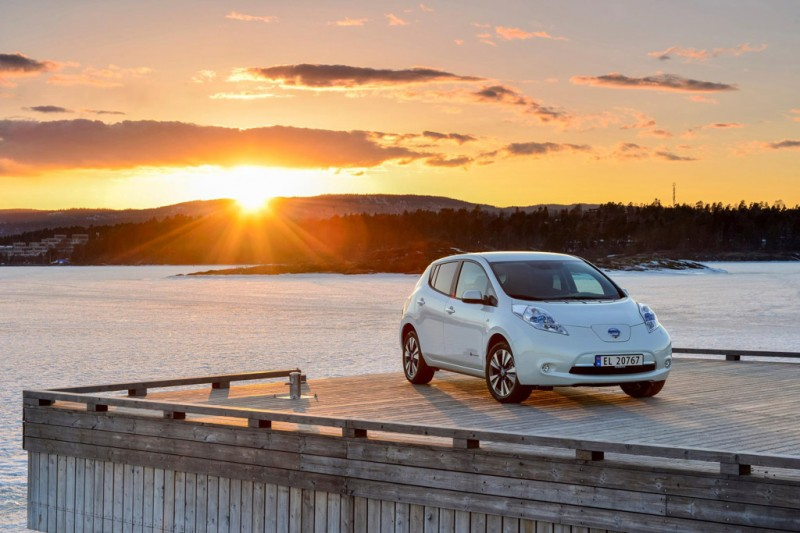 Nissan Leaf in Norway