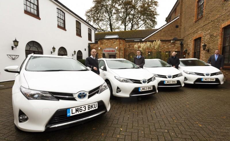 Toyota Auris Hybrids for Toshiba Tec