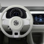 VW twin-up! plug-in hybrid concept - dashboard
