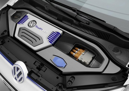 VW twin-up! plug-in hybrid concept - under bonnet