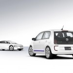 VW twin-up! plug-in hybrid concept and VW's XL1