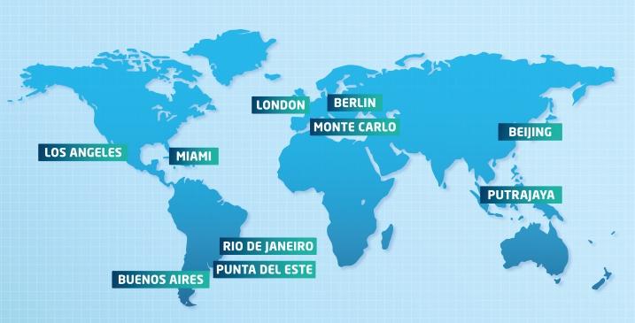 The final 2014-2015 FIA Formula E Championship calendar unveiled.