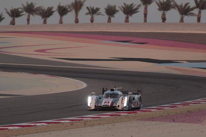 Audi Motorsport WEC 2013 Bahrain