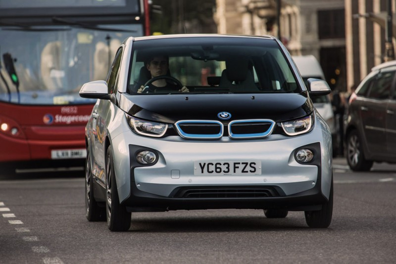 BMW i3 on a London street