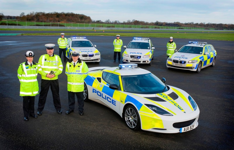 Lotus Evora S Police Car