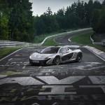 McLaren P1 Nurburgring Test