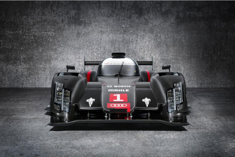 New Audi WEC Hybrid Racing Car