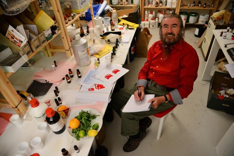 Master Perfumer and Aroma Academy Scientist Dr. George Dodd