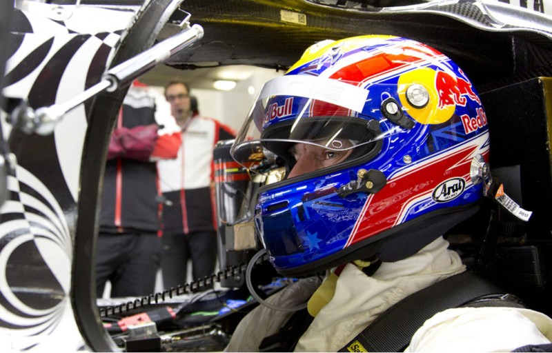 Marc Weber gets acquainted with the Porsche 919 Hybrid