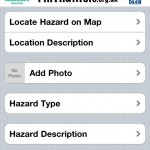 The iPhone app that reports potholes to www.fillthathole.org.uk