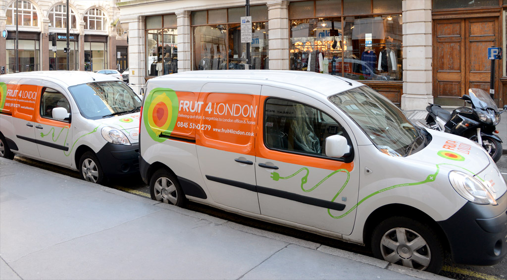 Electric vehicles for your business: Energy Saving Trust