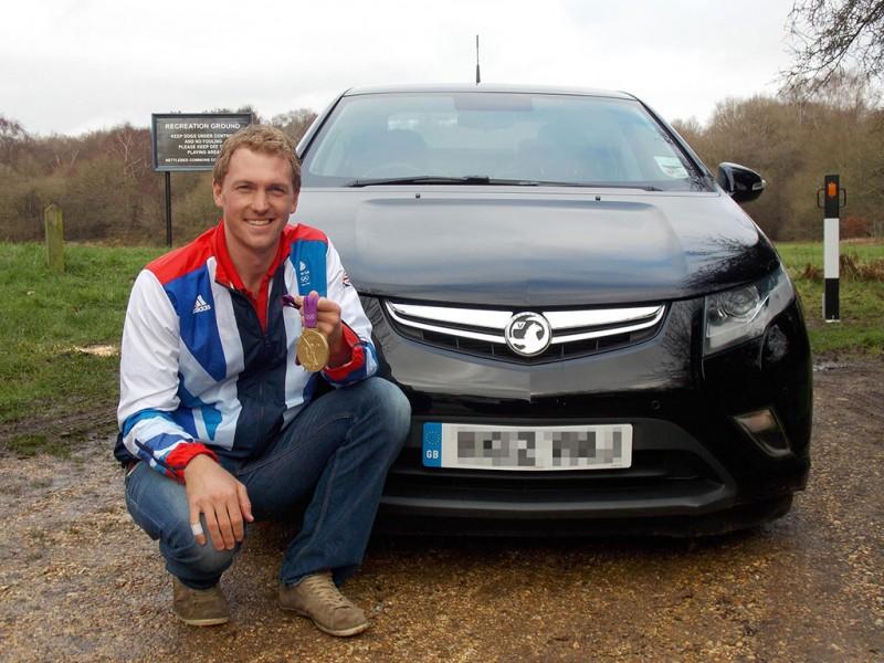 Alex Gregory Vauxhall Ampera