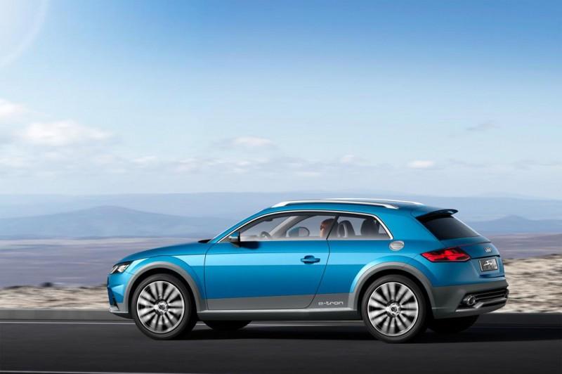 Audi allroad shooting brake - an all-purpose e-tron crossover that represents a glimpse at the future of Audi design