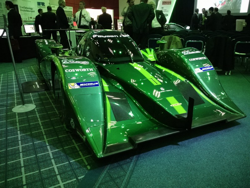 Drayson B12/69 EV at the 2014 MIA Low Carbon Vehicle Conference