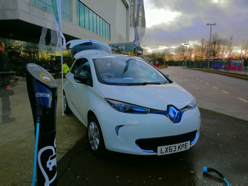 E-Car Club University of Hertfordshire Launch