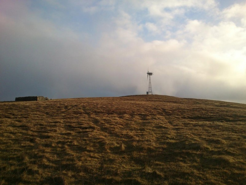 Fair Isle 100kW Turbine Operating
