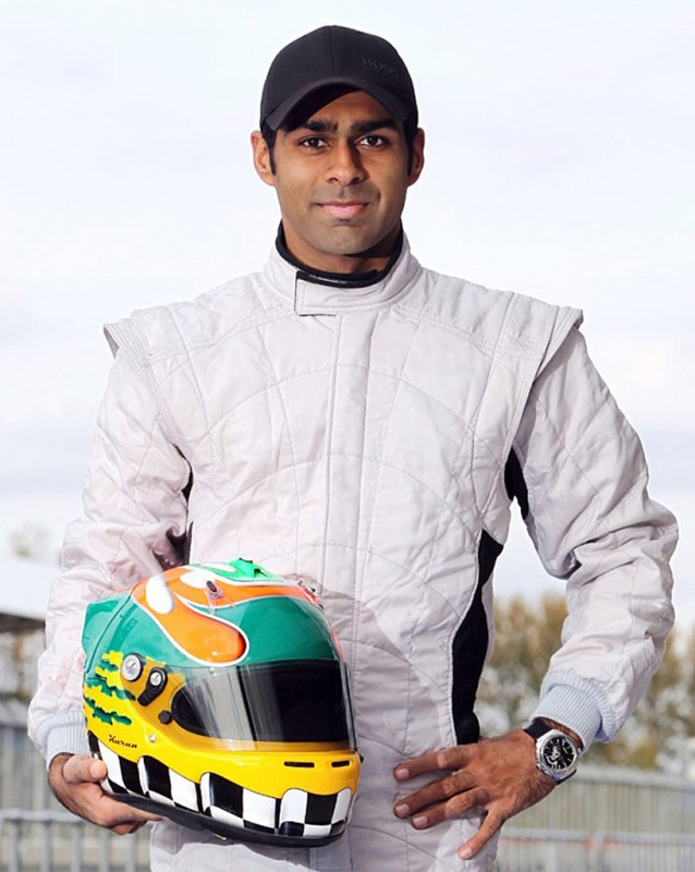Indian racer Karun Chandhok