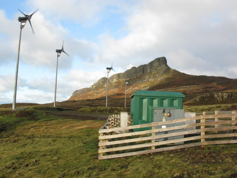 Isle of Eigg 4 Variable Speed Turbines and Control Building