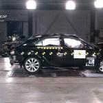 Lexus IS 300h Euro NCAP Crash Test