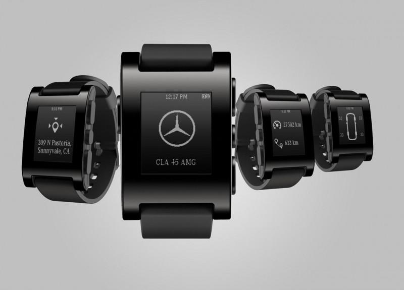 Mercedes-Benz announces strategic partnership with Pebble Technology