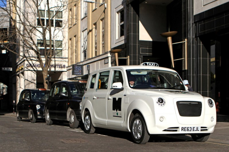 Metrocab E-REV London Taxi