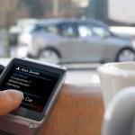 Samsung Galaxy Gear and BMW i3