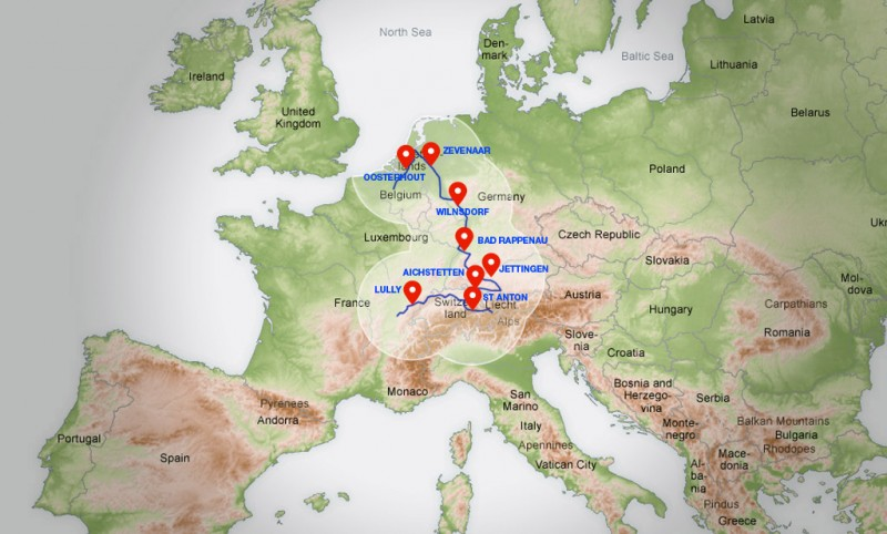 Tesla European Supercharger Network Expansion