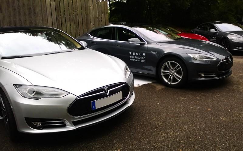 Tesla Model S's