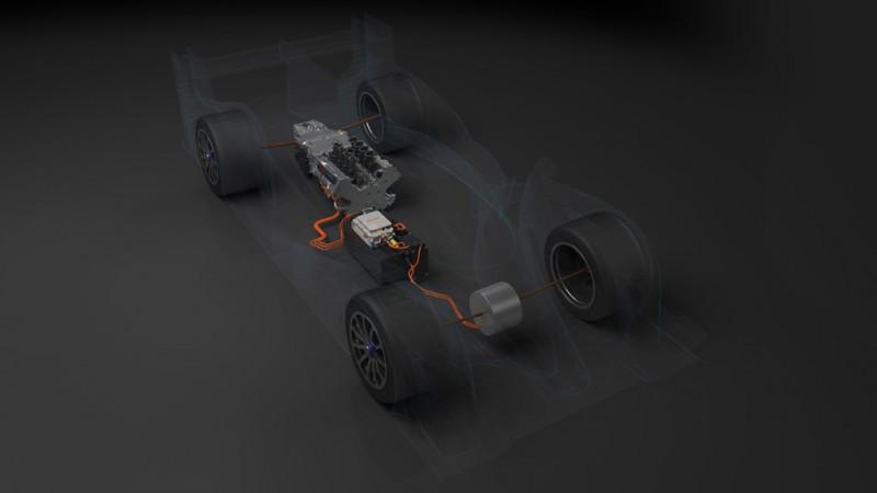 Toyota TS040 Hybrid Le Mans Racer
