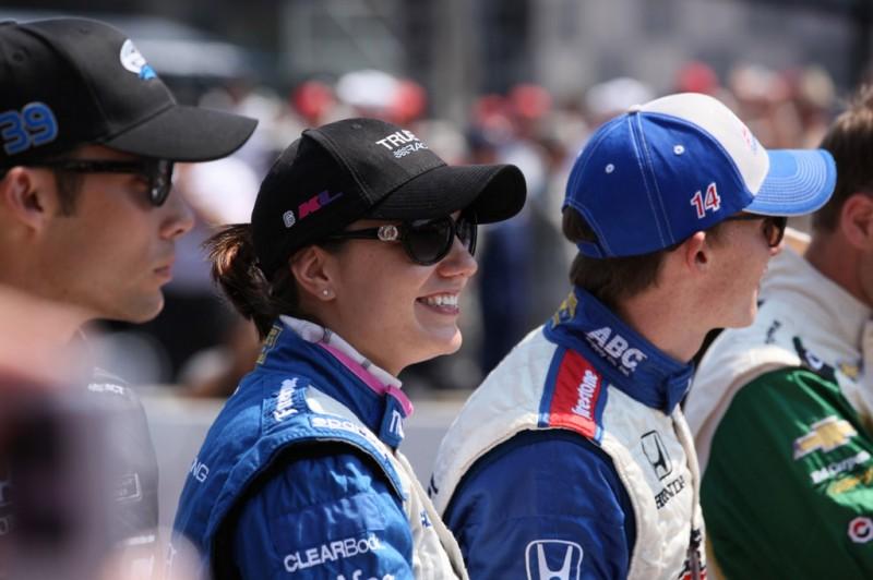 British Driver Katherine Legge