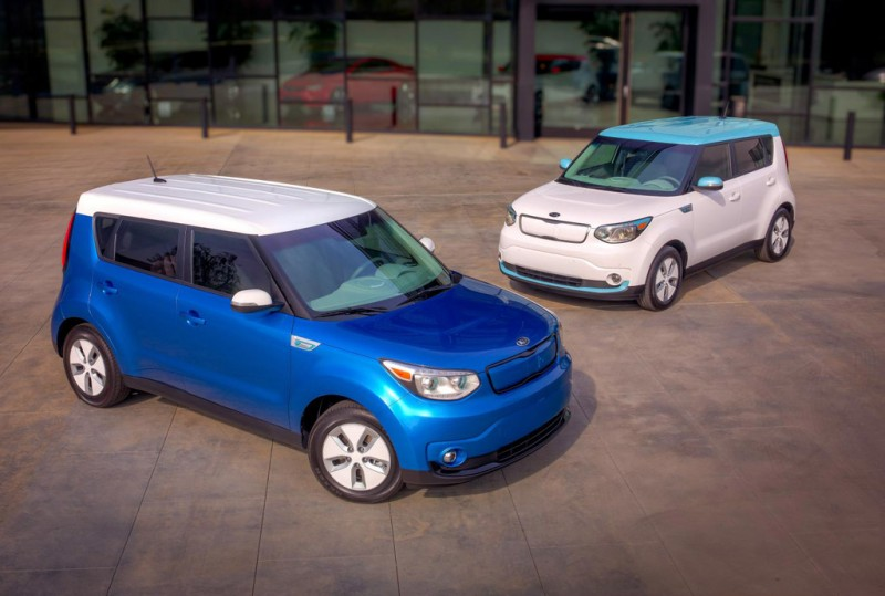 All-new Kia Soul EV unveiled at Chicago Motor Show