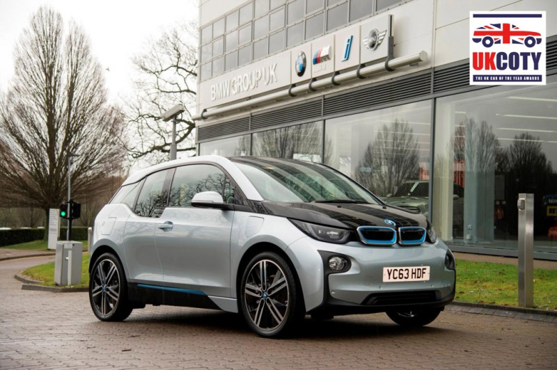 BMW i3, UK Car of the Year 2014