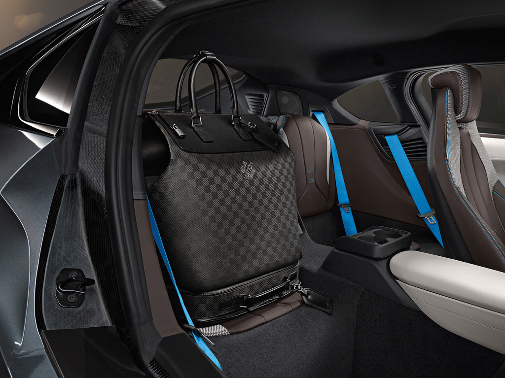 Louis Vuitton Creates Tailor Made Luggage For The Bmw I8 Autovolt