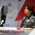 Race engineer Leena Gade