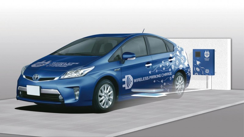 Toyota tests charging with new wireless technology