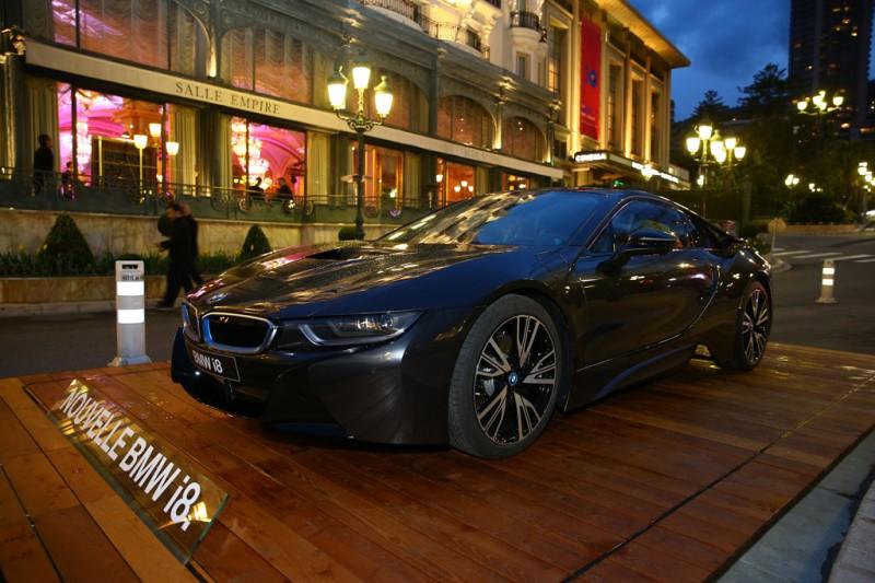BMW i8 in Monaco