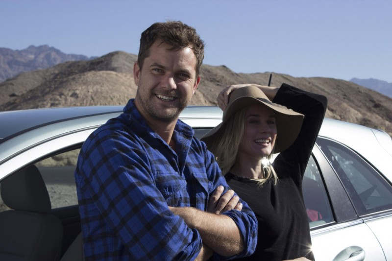 Joshua Jackson & Diane Kruger with the Mercedes-Benz B-Class F-CELL