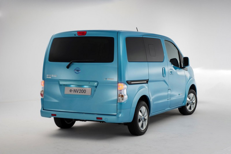 Nissan e-NV200 electric taxi