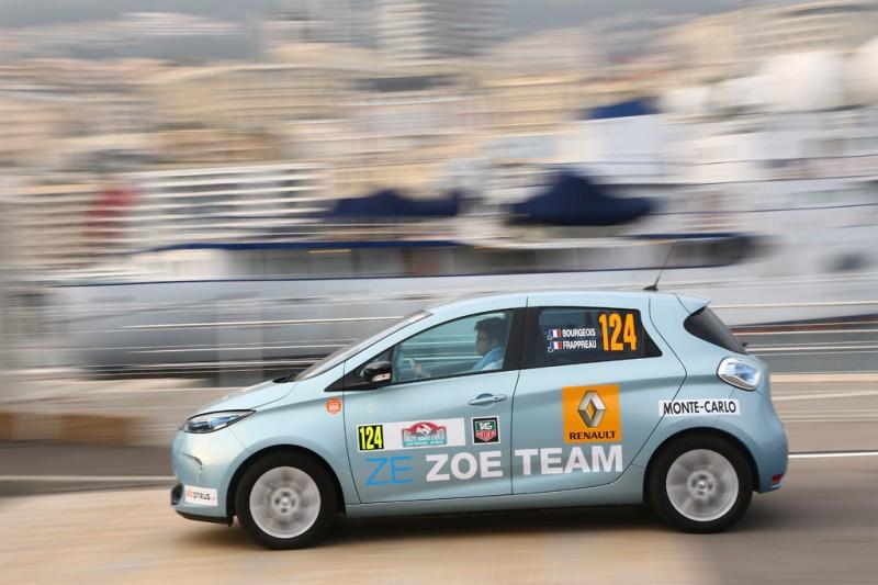 Rallye Monte-Carlo ZENN - Renault ZOE - Photo credit: GREG